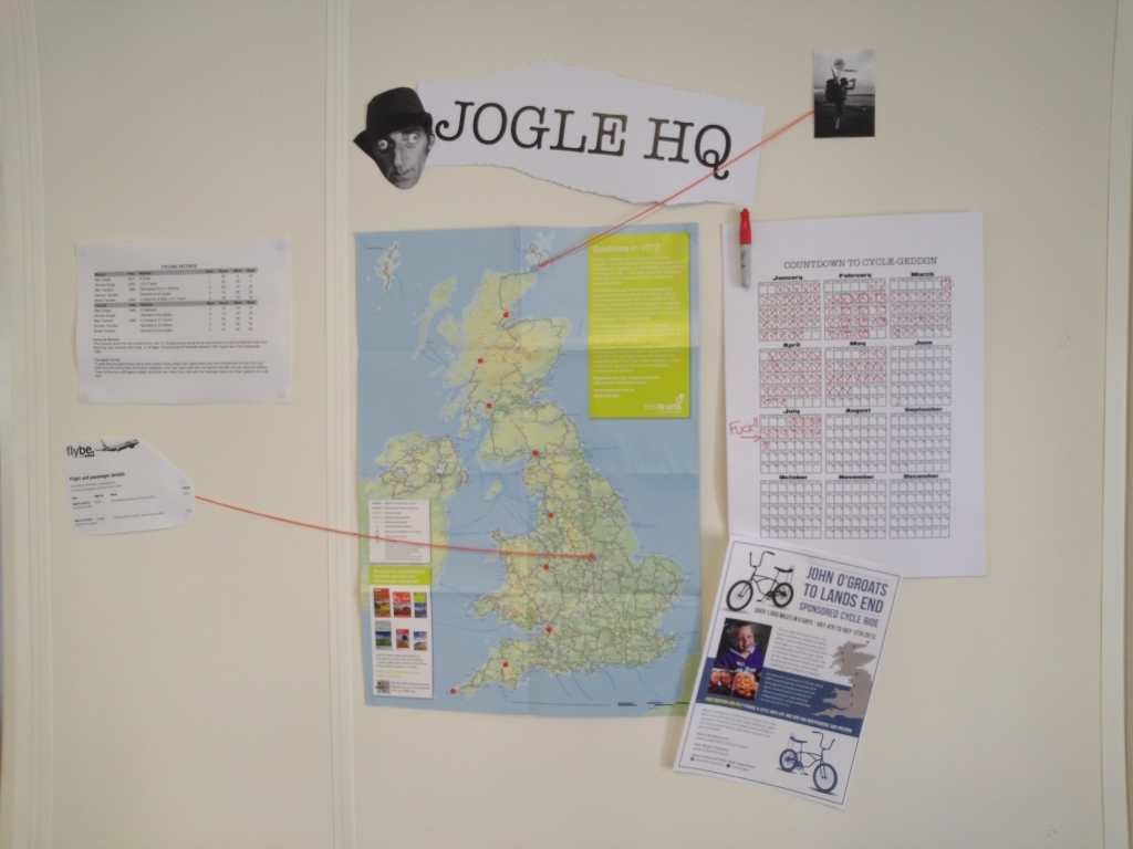 JOGLE HQ at the Adtrak Offices