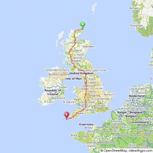 JOGLE Route